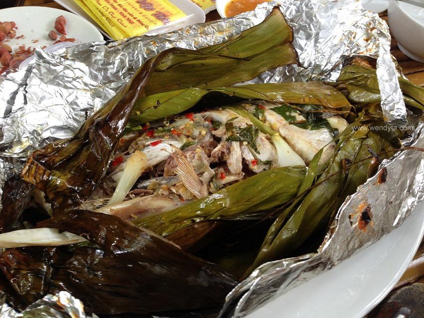 Steamed Fish (Cá Háp)